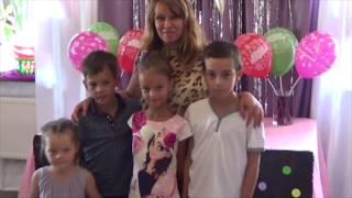 Влог Химическое шоу в день рождения Виолетты. Видео для детей.