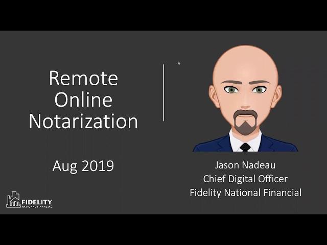 Understanding Remote Online Notarization (RON)
