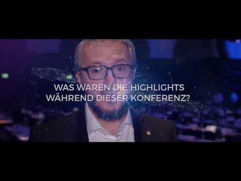 """Interview mit Damian Borth (DFKI) – Handelsblatt Tagung """"Künstliche Intelligenz"""" 2018"""