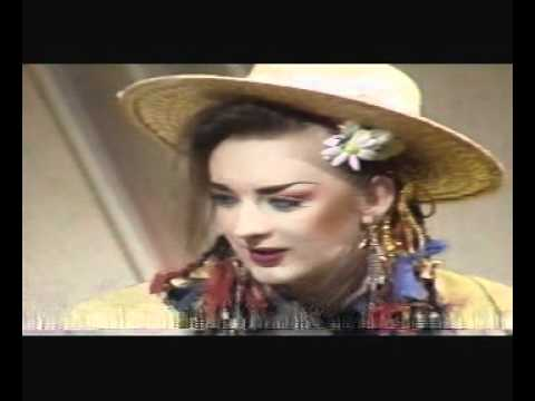 Culture Club on 'Russell Harty' plus Boy George interview 1983