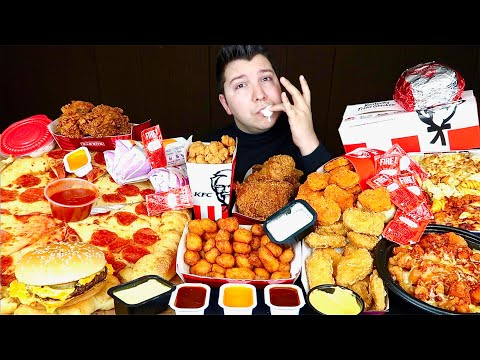 mcdonald's,-kfc,-pizza-hut,-taco-bell,-wendy's,-popeyes,-burger-king-•-mukbang