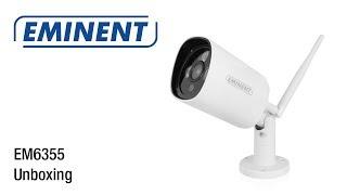 EM6355 Outdoor Full HD IP Camera Unboxing & Installatie