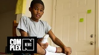 Cops Give New Jordans to a Kid Being Bullied Over His Shoes
