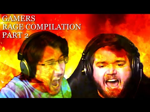 Gamers Rage Compilation Part 2  