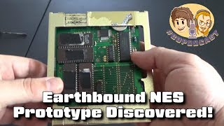 Earthbound NES Prototype Cart Discovered - #CUPodcast