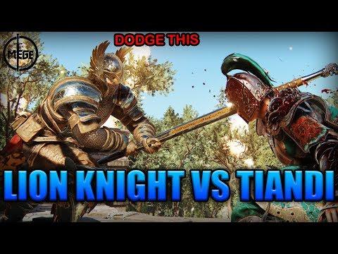 THE LION KNIGHT VS TIANDI - Warden Duels