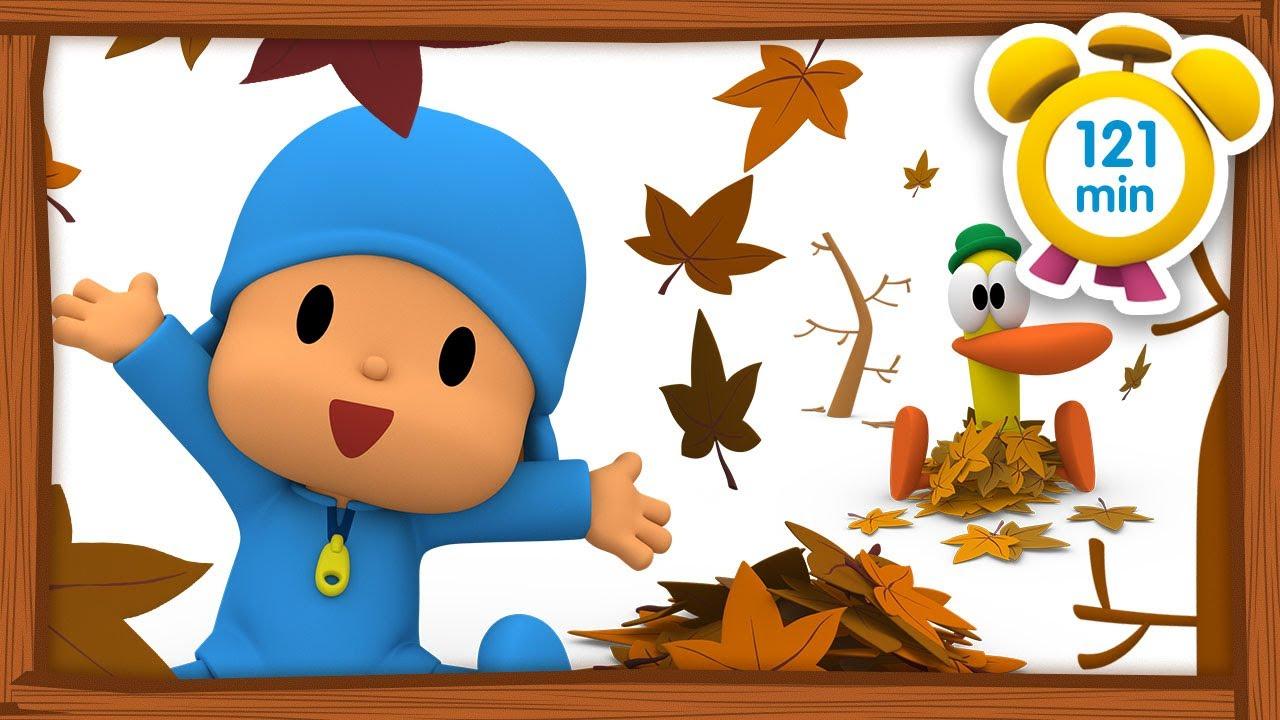 🍁 POCOYO em PORTUGUÊS do BRASIL - O outono chegou [121 min] | DESENHOS ANIMADOS para crianças