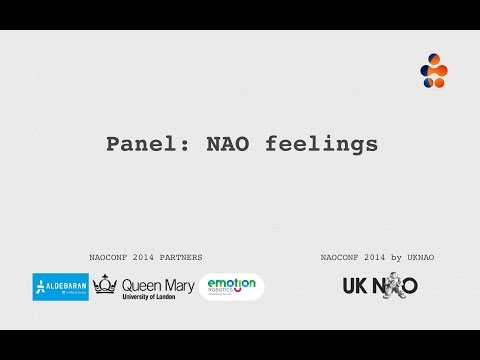 NAO feelings panel - should robots have emotions and feelings?