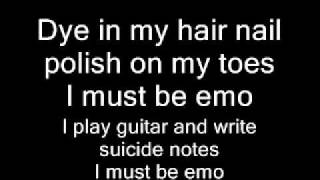 Hollywood Undead I Must Be Emo with lyrics