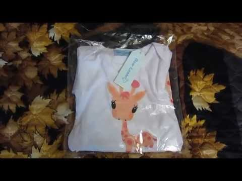 Посылка из китая алиэкспресс. Одежда для малышей
