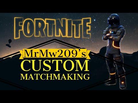 custom matchmaking key fortnite mobile