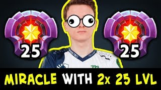 When MIRACLE meets 2x 25 LEVEL — revenge vs BEST MEEPO