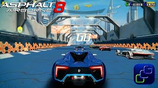 Asphalt 8 Airborne Gameplay - NEW Update Track Sector 8 1080p HD thumbnail