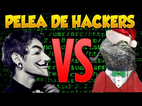 Anonymous VS Lizard Squad Pelea de Hackers
