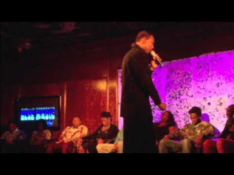 LENNY MOORE HYPNOTIZES @ BLUE MAGIC 11/20/12 PART 1/2