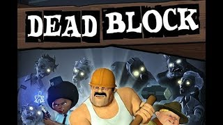 Dead Block - ZOMBIES IN DA HOOD!! - Dead Block Gameplay