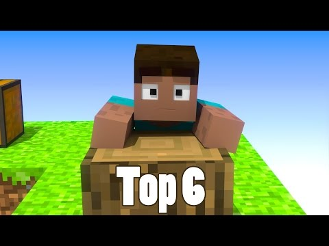 Thumbnail: Top 6 Minecraft Skyblock Animations
