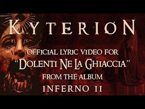 KYTERION - Dolenti ne la ghiaccia (OFFICIAL LYRIC VIDEO)