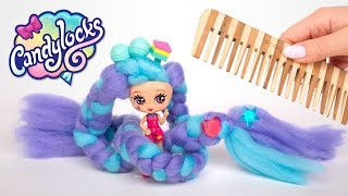 5 muñecas Candylocks de pelo largo se unen a la familia