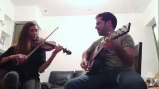 Liat & Yogev - Django & Grappelli Medley (rehearsal)