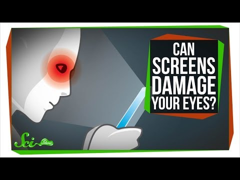 Can Screens Damage Your Eyes?