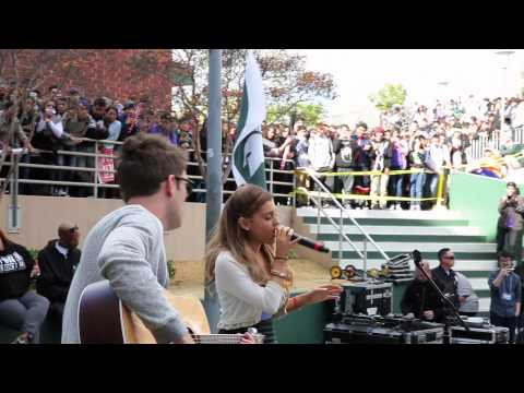 Ariana Grande High School Takeover | LIVE Performance