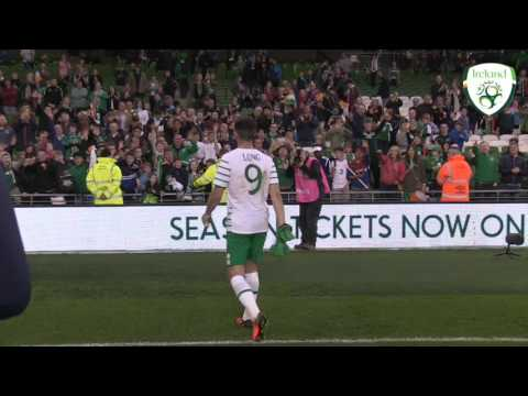 Shane Long post match interview - Ireland v Netherlands