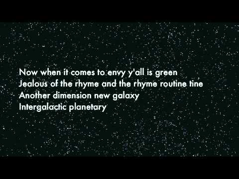 Intergalactic: Beastie Boys (Lyrics)
