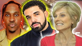 Mom REACTS to Drake - Duppy Freestyle (Drake vs. Pusha T Beef)