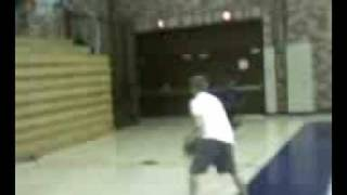 Colton Petty-basketball trick shot 1