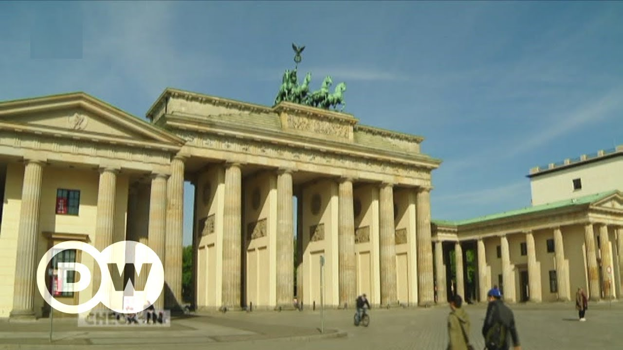 Das Brandenburger Tor Wahrzeichen Mit Geschichte Dw Deutsch Youtube