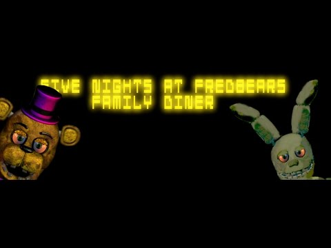 five nights at fredbears family diner night 5 complete ending