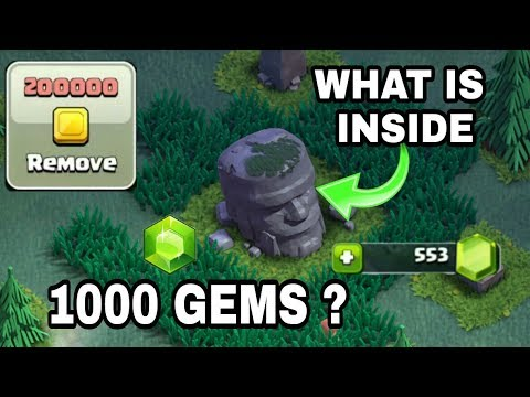 Old barbarian  remove. Can I get 1000 gems? clash of clan (hindi)sam1735