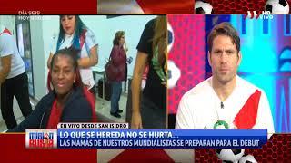 Madres de los Seleccionados Nacionales se alistan para el Perú vs. Dinamarca