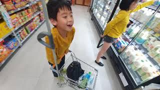 第一次逛家樂福便利購超市|自助結賬超難用!放棄了!