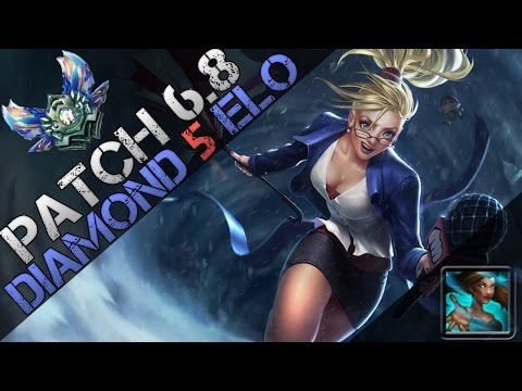 ► BOTLANE = PARTYLANE! How to Carry as Janna Support! Full Game Diamond Commentary