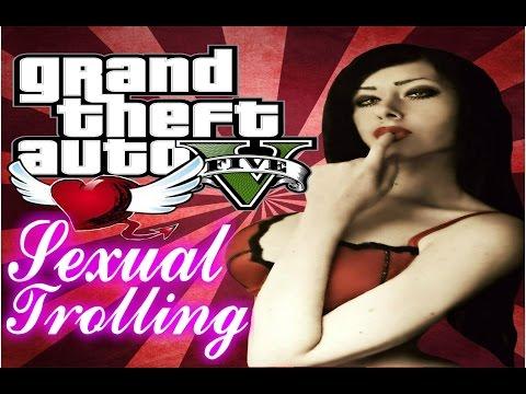 GTA 5 Voice Trolling - HORNY GAMER GIRL GETS SEXUAL ONLINE