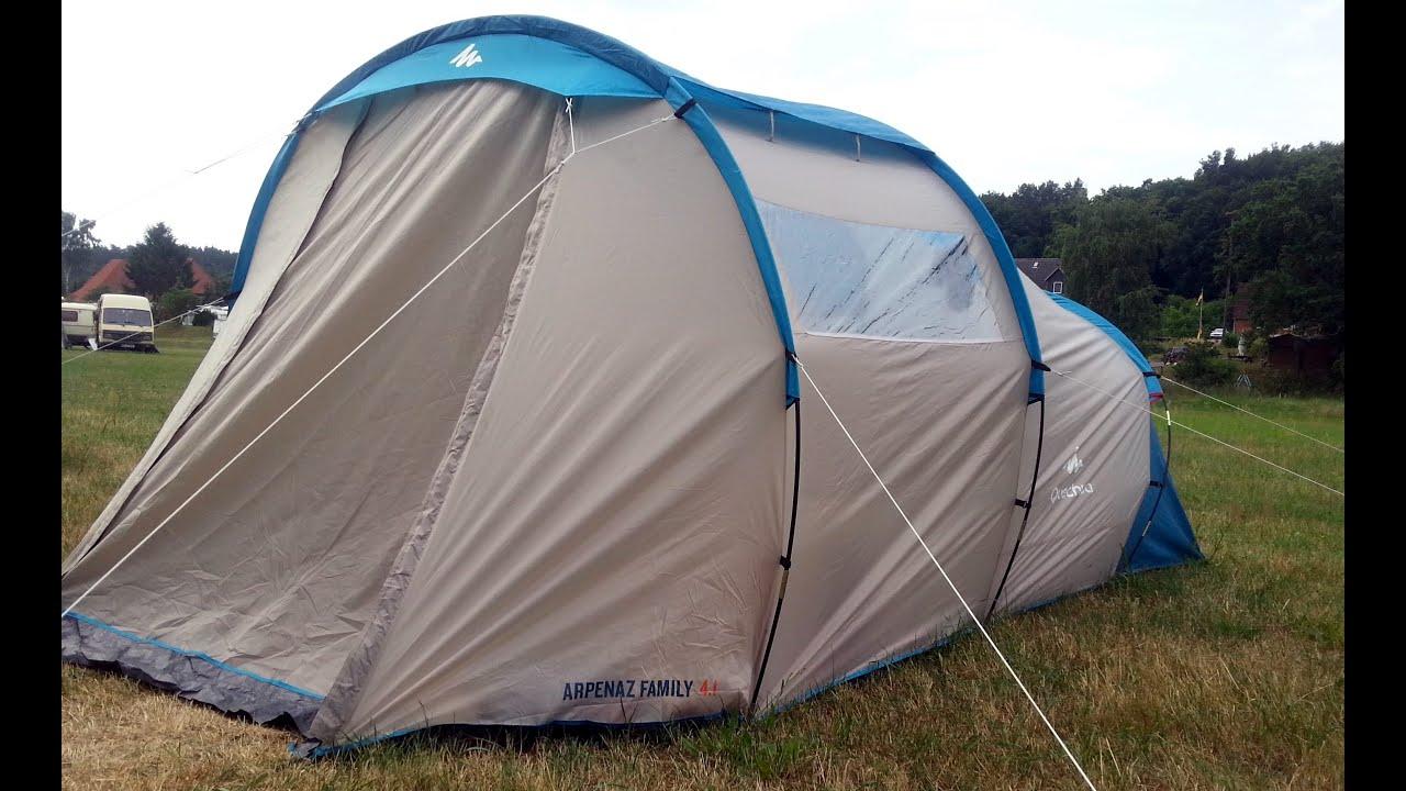 outdoor wildcamping decathlon zelt arpenaz family 4 1 im. Black Bedroom Furniture Sets. Home Design Ideas