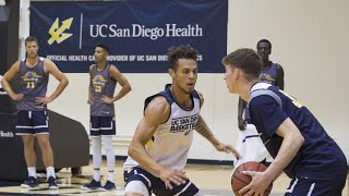 Top Triton Basketball Player Back on Court, with Assist from UC San Diego Health