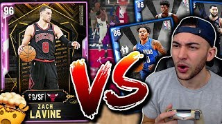 BUDGET SAPPHIRE SQUAD MATCHED UP AGAINST *PINK DIAMOND* LAVINE! FOUND A HIDDEN GEM! NBA 2K20 MyTeam