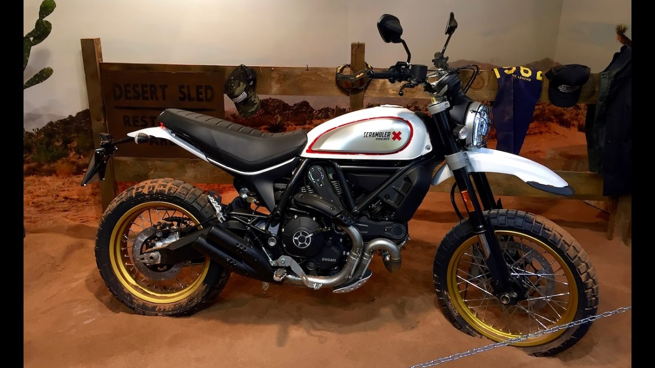 2017 ducati scrambler desert sled first view eicma 2016. Black Bedroom Furniture Sets. Home Design Ideas