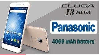 Panasonic Eluga I3 Mega with 4000 mAh battery launched