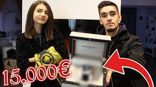 ELLE DEVINE LE PRIX DE MES AFFAIRES DE LUXES ! *15.000 EUROS ?*
