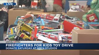 Donations needed for 42nd annual Firefighters 4 Kids toy drive