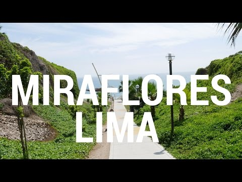 Miraflores District Lima Peru