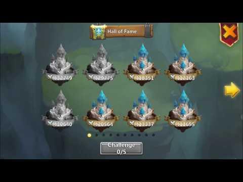 Castle Clash : Guild Wars Top Bases 453k - 429k Might Brute Forcing