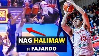 Walang Makapigil kay Fajardo   Gilas vs Chinese-Taipei   FIBA Asian Qualifiers