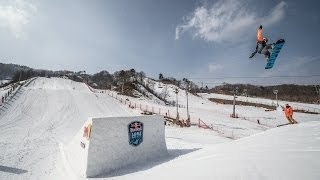 Snowboard Big Air Competition in South Korea - Red Bull Be Won 2014