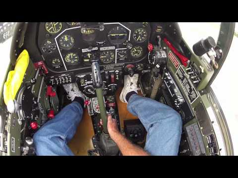 North American P-51C Mustang - Part 1 - Kermie Cam