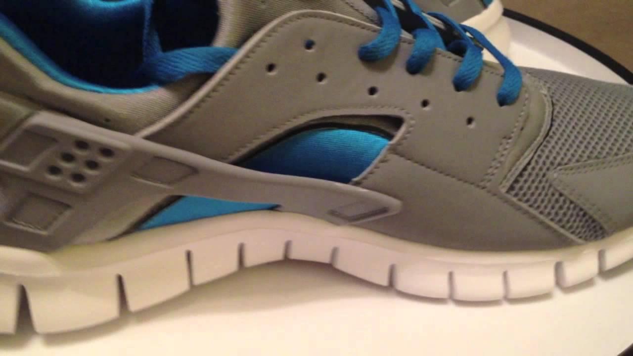 08f1149ca20b1 Nike Huarache Free 2012 - Stealth   White   Neptune Blue - YouTube
